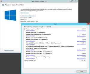 Azure PowerShell Web PI