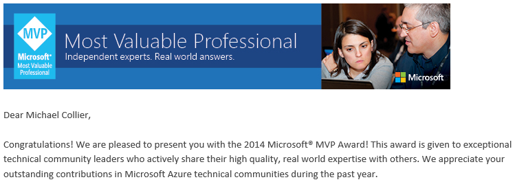 mvp 2014 email