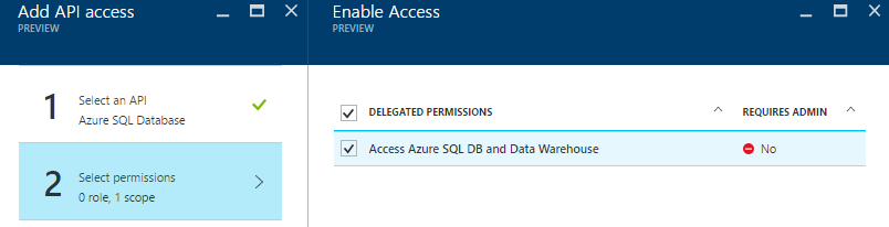 select-azure-sql-database-delegated-permission-2